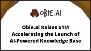 Obie.ai Raises $1M