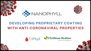 NanoPhyll Developing Coating Anti-Coronaviral Properties