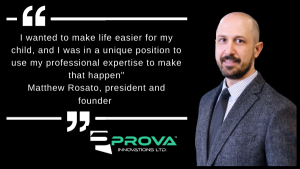 PROVA Innovations Ltd. - Matthew Rosato