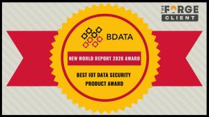 BDATA Best IOT Data Security Award