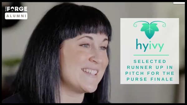 HyIvy Health selected runner up in Pitch for the Purse Finale