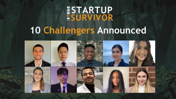 Startup Survivor Challengers Announced