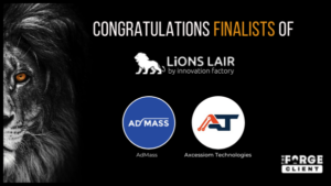 Congrats Admass and Axcessiom Technologies LiONS LAIR