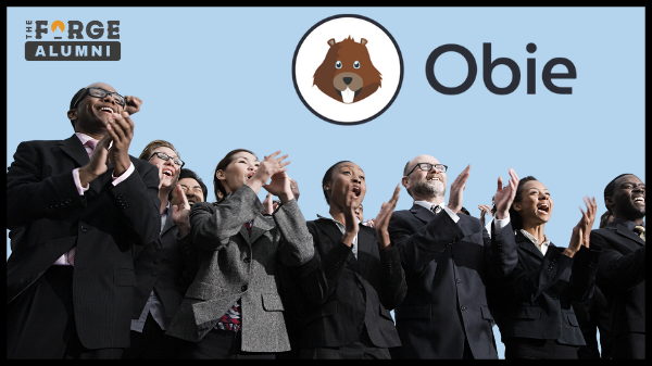 Obie- The Forge alumni - People clapping